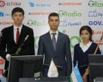 Ирода Адылова, Фарух Арипов и педагого Фахриддин Уринбоев