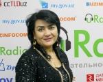 Курсия Эсомова, Заслуженная артистка Узбекистана